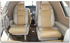 Citation S/II Interior - N550AJ