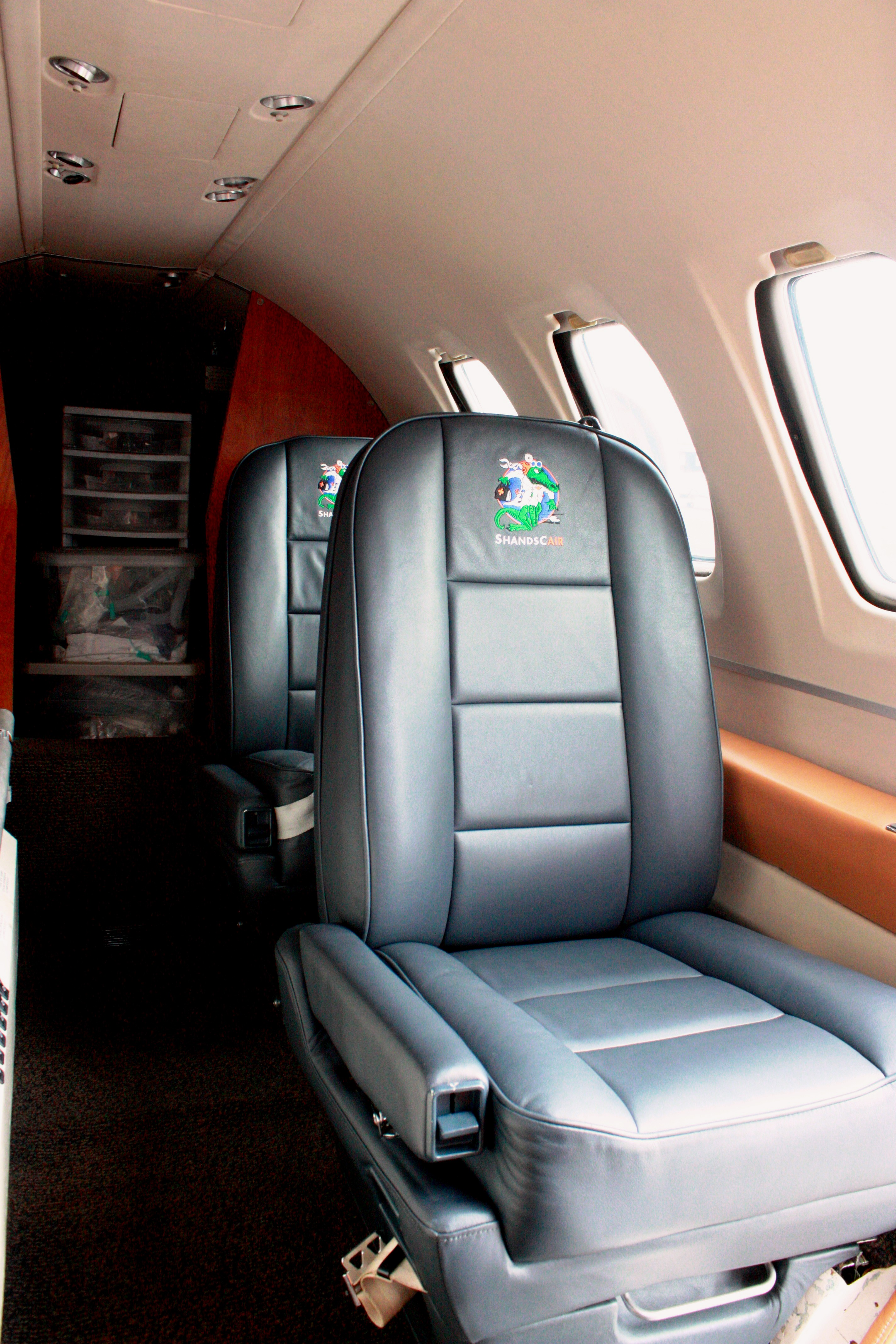 Citation I Interior - N891CA