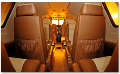 Citation S/II Interior - N575EW
