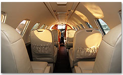 Citation V Interior - N939TW