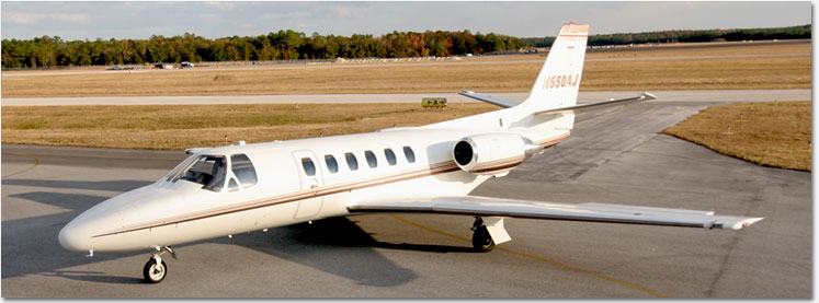 Citation S/II - N550AJ